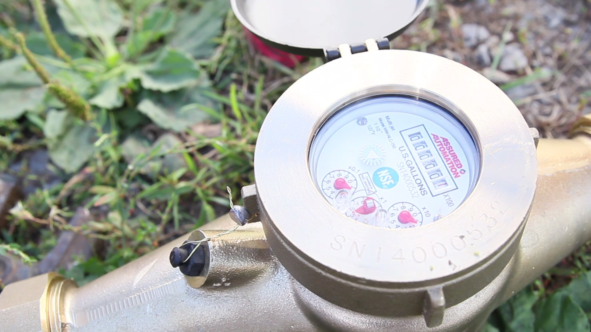 Using water meters helps quantify water consumption